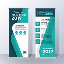 mapping layout perusahaan standing banner vectors photos and psd files free download