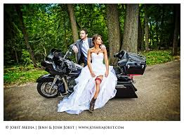 wedding photographers in michigan harley davidson motorcycle wedding photography michigan indian
