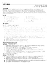 procurement manager resume sample professional camp manager templates to showcase your talent resume templates camp manager