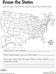 50 state capitals 50 states worksheets and us states
