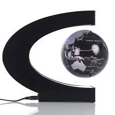 shop creative c shaped magnetic levitation globe office