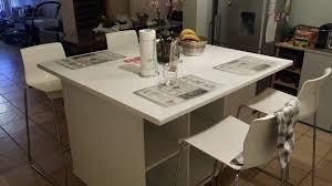 cuisine ikea en u ikaca table de cuisine beautiful table et chaise de cuisine ikea u
