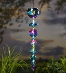 mercury glass solar globes set of 3 hanging solar mercury glass