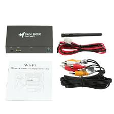 box for android wifi car mirror box for android ios phone navigation link to car
