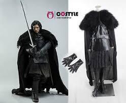 Halloween Costume Cape Halloween Game Thrones Cosplay Cloak Jon Snow Costume