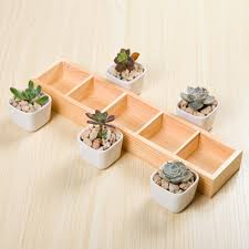 online buy wholesale ceramic square pots with tray from china