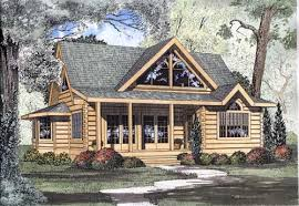 cabin style home log cabin house plan 2 bedrooms 2 bath 1449 sq ft plan 12 779