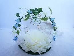 fleur artificielle mariage porte alliance mariage quelque chose de bleu pivoine fleur