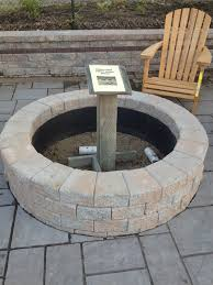 paver fire pit insert design and ideas
