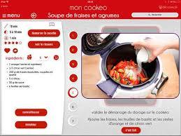 application recettes de cuisine mon cookeo l application cookeo multicuiseur cookeo
