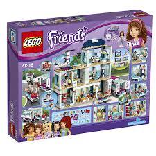 K Henelemente G Stig Lego Friends 41318 Heartlake Krankenhaus Amazon De Spielzeug