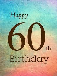 60 Birthday Cards 60th Birthday Card Birthday Greeting Cards By Davia