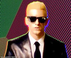 Eminem Rap God Meme - eminem appears as british artificial intelligence avatar max