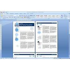 newsletter template for word professional safety newsletter