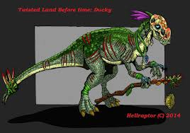 image twisted land ducky hellraptor d7nc3o1 jpg