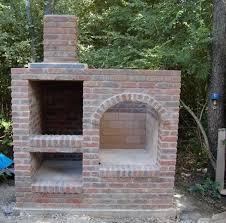 Backyard Smokers Plans Images Of Backyard Brick Smokers For Sc