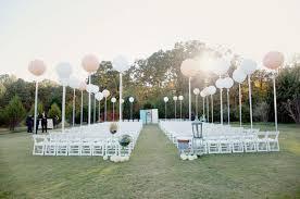 Wedding Ceremony Decoration Ideas Balloon Wedding Décor Ideas 10 Fun Ways To Incorporate Balloons