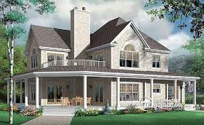 two country house plans w3832 beautiful three car garage country home with 2 master
