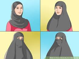 3 ways to dress modestly as a muslim wikihow