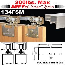 Sliding Bypass Barn Door Hardware by Soft Close Hardware Johnsonhardware Com Sliding Folding