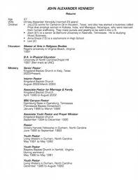 here is preview of a sample pastor resume created using ms word