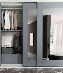 Single Mirror Closet Door Bathroom One Door Wardrobe With Mirror Single Mirrored
