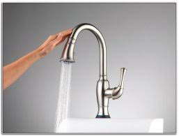 glacier bay touchless single handle pull down sprayer charming no touch faucet 1 glacier bay touchless led single