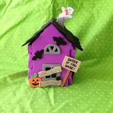 halloween kids craft 3d haunted house youtube