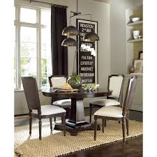 ideas pedestal dining table with parson dining chairs and antique