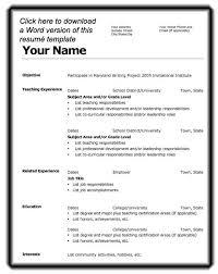 Resume Bm Template For Resume Cyberuse