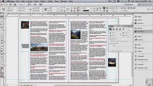 indesign tutorials for beginners cs6 adobe indesign cs6 tutorials text and objects infiniteskills
