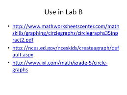 circle pie graphs fifth grade ppt download