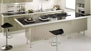 faire un plan de travail cuisine table de travail haute table rétractable stratifié aluminium mat