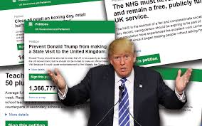 Queen Elizabeth Donald Trump Do Online Petitions Actually Work The Numbers Reveal The Truth