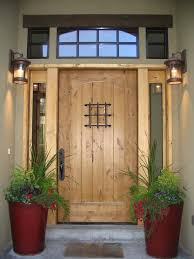entry hall mudroom red color painted wood front door creative