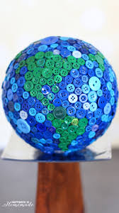 button globe globe craft and buttons ideas
