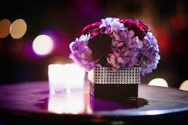 purple wedding centerpieces wedding color palettes purple décor inside weddings