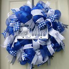 113 best football wreaths images on football wreath