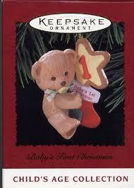 hallmark keepsake ornament baby s
