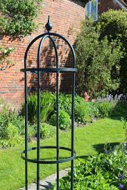 classic rose pillars from agriframes tbk galvanized steel with a