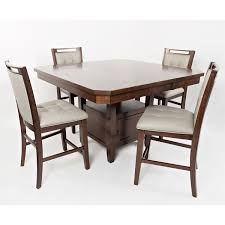 jofran 1672 54t 1672 54b manchester counter high low dining table