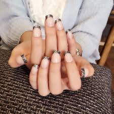 high quality short black nails promotion shop for high quality