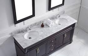Espresso Bathroom Mirrors Virtu Usa Victoria 72 Double Bathroom Vanity Set In Espresso