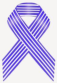blue and white striped ribbon awareness ribbons for blue and white stripe awareness ribbon