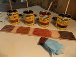 How To Lighten Stained Wood by Custom Mixing Stains Minwax Blog