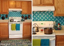 backsplash kitchen diy remodelaholic 15 diy kitchen backsplash ideas