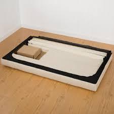 Tufted Platform Bed Zinus Upholstered Button Tufted Platform Bed With Wooden Slats