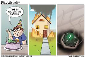 D And D Memes - d d birthday tales of absurdity
