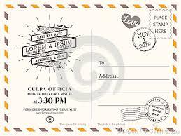 Wedding Postcards Postcard Invitation Template Postcard Invitation Template