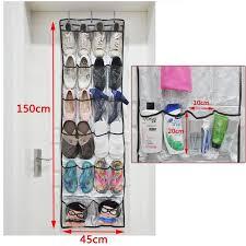 shoe rack hanging hot 22 pockets door hanging living room storage bag shoe rack wall